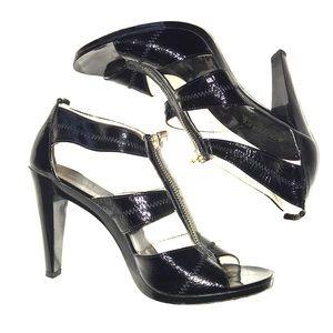 MICHAEL- Michael Kors zip up heels - NWT